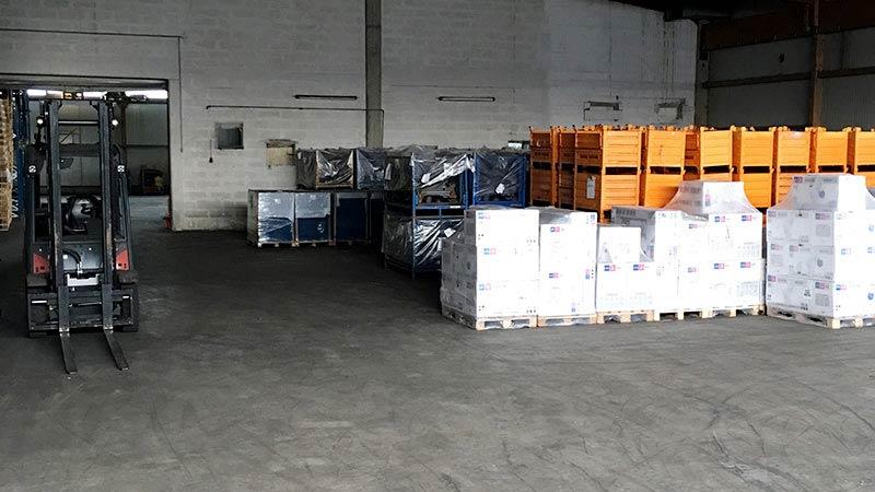 Einlagerung, Transporte und Logistik Gelhart