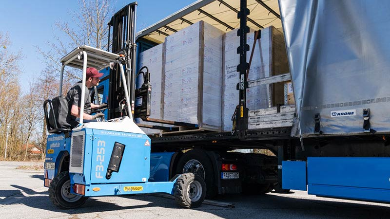 Mitnahmestapler, Transporte und Logistik Gelhart