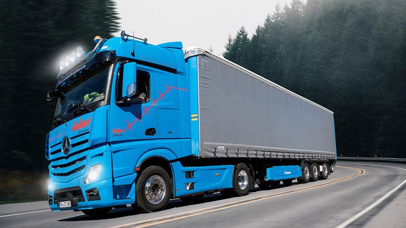 Logistiklösungen von Transport und Logistik Gelhart