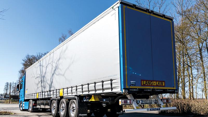Lang-LKW, Transporte und Logistik Gelhart